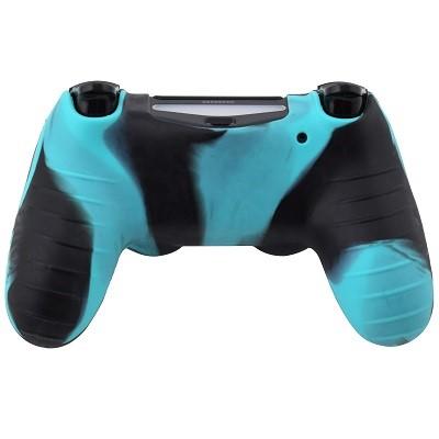 PS4-Dualshock-Silicone-Blue-Black-Back
