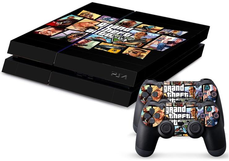 PS4 Skin - Grand Theft Auto