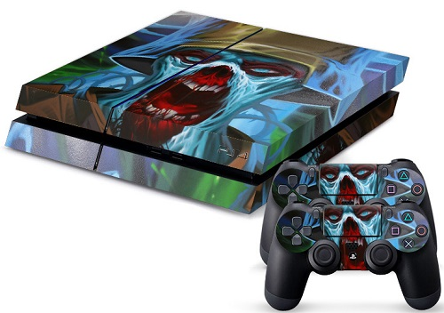 PS4 Skin - Zombie Trooper