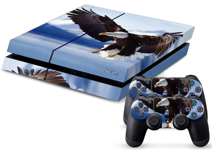 PS4 Skin - Animal Eagle