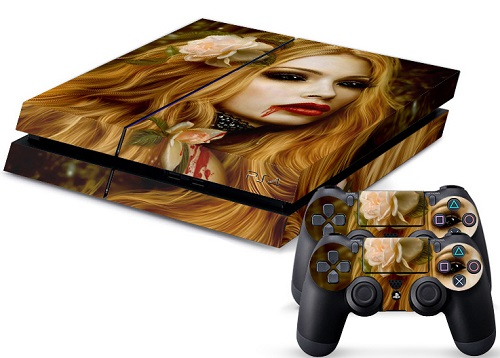PS4 Skin - Sweet Vampire Girl