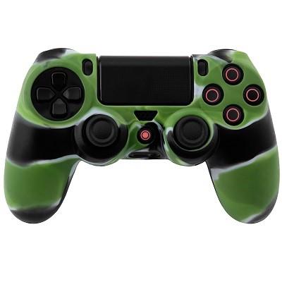 PS4 Dualshock Silicone Case Multicolor Green White Black