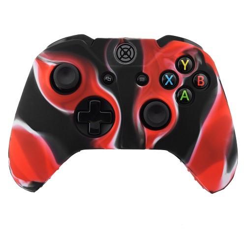 XBox One Controller Silicone Case Multicolor Red-Black