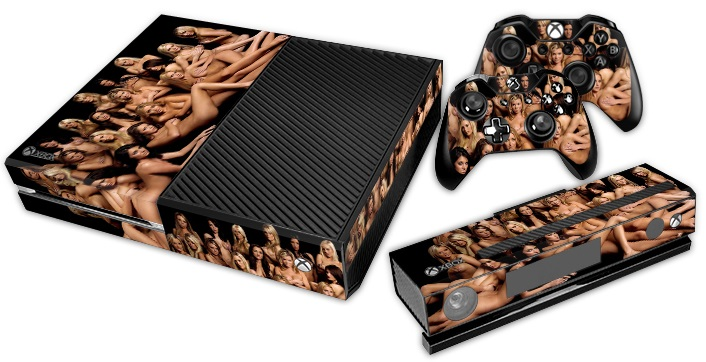 XBox One Skin - Sexy Naked Girls
