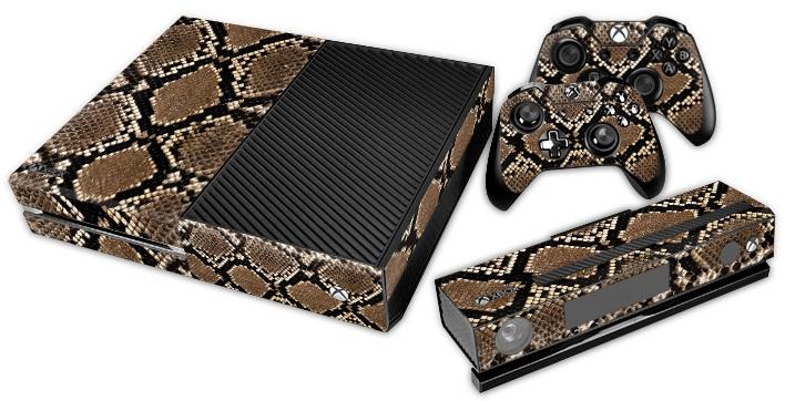 XBox One Skin - Animal Snake Skin