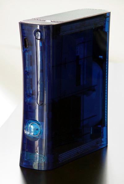 X-Box 360 Ocean Blue Case