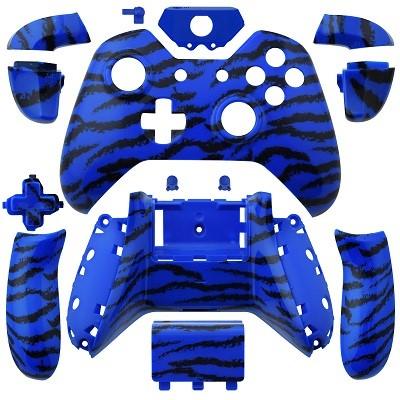 Xbox One Wireless Controller Tiger Stripe Blue