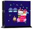 PS4 Skin - Hello Kitty Christmas