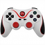 PS3 Doubleshock Bluetooth Wireless Controller White Red