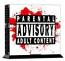 PS4 Skin - Parental Advisory