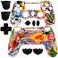 PS4 Controller Shell Dualshock 4 Sticker Bomb