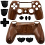 PS4 Controller Shell Dualshock 4 Wood