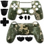 PS4 Controller Shell Dualshock Camouflage Green