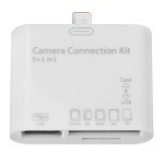 5 in 1 Camera connection kit for Ipad Mini