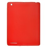 Ipad 2 Silicon Case Red