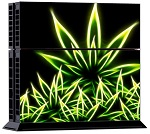 PS4 Skin - Cannabis Weed