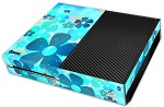 XBox One Skin - Light Blue Flower